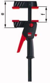 DUO45-8 Eenhand klem Spreiden en Klemmen! 0-450 mm